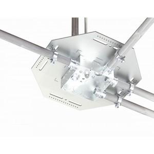 "Orbit Industries BCHS-10 Conduit/Box Support Hanger, Fits Up To 6"" x ""6 Box, Steel/Galvanized"