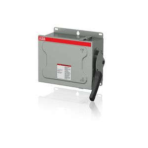 ABB EOHU361RK Safety Switch, HD, 30A, 3P, 600VAC, Non-Fusible, NEMA 3R *** Discontinued ***