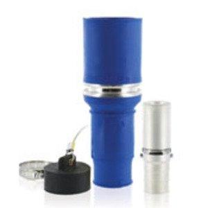 Leviton 49F53-B Single Pole Female Plug, 898A Max, 535 MCM, Blue