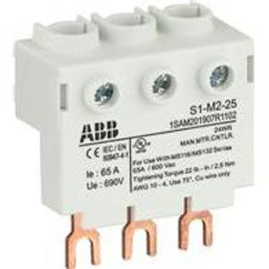 ABB S1-M2-25 Power Feed Block
