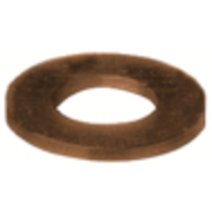 "Burndy 62FWBOX Flat Washer, 5/8"", Silicon Bronze"