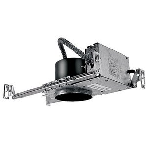 """WAC Lighting HR-8402E Low Voltage Housing, Electronic Non-IC, New Construction, 4"""", 120V"""