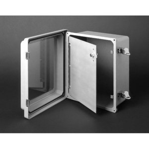 Allied Moulded HFP164 Enclosure hinged front panel kit for use with Allied Moulded AM-R series