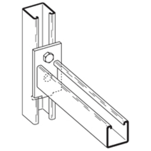 Eaton B-Line B293-24ZN CHANNEL BRACKET,