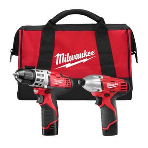 Milwaukee 2494-22 M12 Cordless Tool Kit