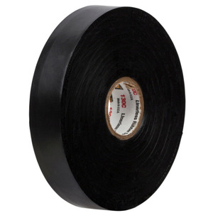 "3M 130C-3/4X30FT Linerless Rubber Splicing Tape, 3/4"" x 30'"
