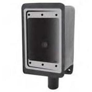 "Calbond PV0700FS2 FS Device Box, 1-Gang, 3/4"", Dead-End, PVC Coated Steel"