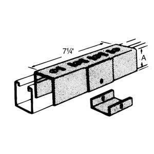Superstrut A822 Channel Joiner And Seal