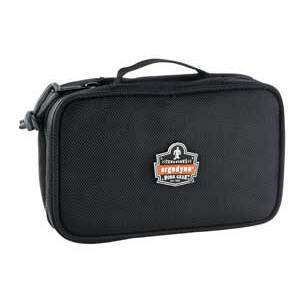 Ergodyne 13220 2 Pocket Small Clamshell Organizer, Black