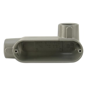"Appleton LR50A Conduit Body, Type: LR, 1/2"", Form 85, Aluminum"