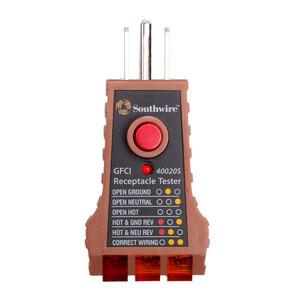 Maxis 58-29-26 GFCI Receptacle Tester
