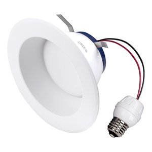 "Cree Lighting SRDL4-0572700FH-12DE26-1-11004S0 4"" LED Downlight, 575L, 2700K, 120V, E26 Base"