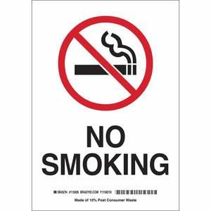 25120 NO SMOKING SIGN