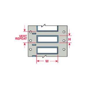 Brady 3PS-187-2-WT-SC Wire Mkr,THT SC,B342Db,.187x2,Wt,1000/RL