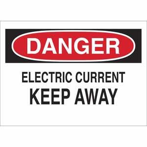 25524 ELECTRICAL HAZARD SIGN