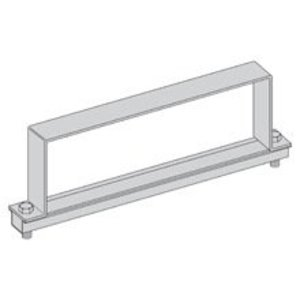 "Eaton B-Line 9A-30-9064-W/SS6 Cable Tray Heavy Duty Cover Clamp, 30"" Width, 6"" High, Aluminum"