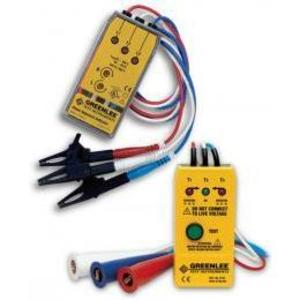 Greenlee 5779 Motor Rotation & Phase Sequence Indicator *** Discontinued ***