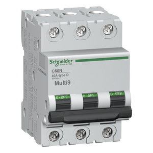 Square D MG24473 Breaker, Miniature, 3P, 50A, 480Y/277VAC, 125VDC, DIN Rail Mount *** Discontinued ***