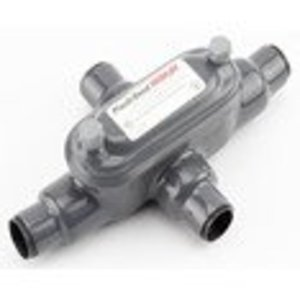 "Plasti-Bond PRHX28 Conduit Body, Type: X, FM8, Size: 3/4"", PVC Coated Iron"