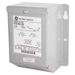 GE 9T51B0170 Transformer, Dry Type, Encased, 1KVA, 380/400/416-120/240, 1PH