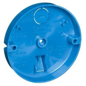 "Carlon B708-SHK Ceiling/Fixture Pan, 4"" Diameter, Depth: 5/8"", Non-Metallic"