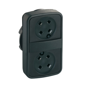 ZB5AA79 PLASTIC DBL HEADED PUSHBUTTONS