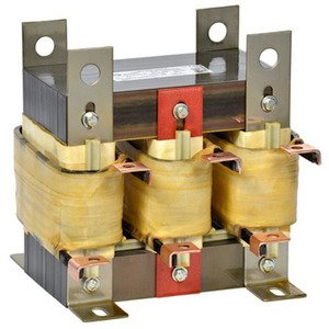 Hammond Power Solutions CRX0240AC Line Reactor, AC, 3PH, 480VAC, 240A, 3 % Impedance, Core & Coil
