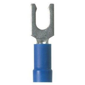 Panduit EV14-8LFB-Q StrongHold Locking Fork Terminal, Vinyl