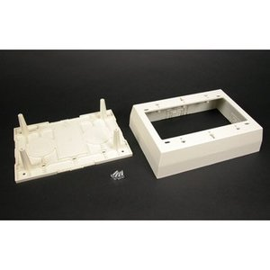 Wiremold PSB3WH 3-gang Device Box-white
