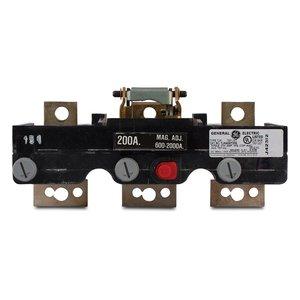 GE TJK436T400 Breaker, Molded Case, 400A, 600VAC, Trip Unit, 3P, J Frame
