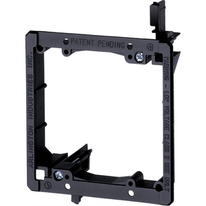 LV2 2GANG LOW VOLTAGE MOUNTING BRACKET