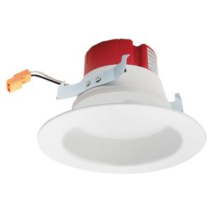 """Elco Lighting EL41530W LED Reflector Insert, 4"""", 10 Watt, 3000K, White"""