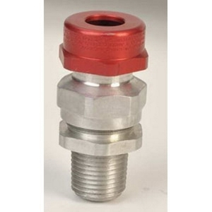 """Appleton TMC2X-050075SSX TMC2X Connector, 1/2"""", Explosionproof-Dust-Ignitionproof, Stainless Steel"""