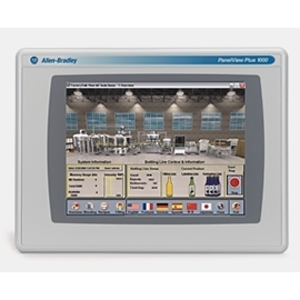 "Allen-Bradley 2711P-T10C4D8 Operator Interface, Touch Screen, 10.4"" Color, DC Power"