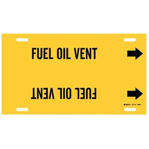 4066-H 4066-H FUEL OIL VENT YEL/BLK STY