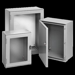 """nVent Hoffman JOBP2719 Wall Mount Enclosure Hinge Cover, Solid Door, ULTRX Series, NEMA 4X, 24 x 20 x 10"""", Fiberglass *** Discontinued ***"""
