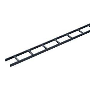 Hoffman LSS12BLK Ladder Rack, Straight Section