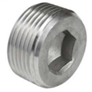 "Calbrite S60700CSHP Close-Up Plug, Recessed Hex Head, 3/4"", SS"
