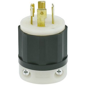Leviton 2831 Locking Plug, 30A, 3PH Y 347/600V, 4P5W