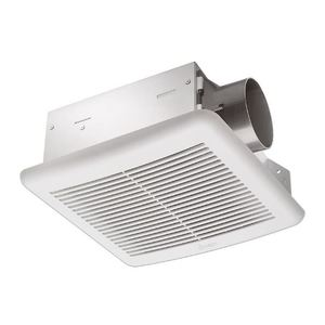 Delta Products SLM70 70 CFM Single Speed Exhaust Fan, 13.2W, 2.0 Sones