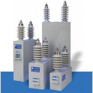 GE 18L0065WH Capacitor, Dielektrol, 7200-7960V, 3P, Internal Discharge Resistor