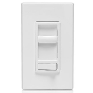 Leviton 6674-P0W Dimmer, Sureslide, CFL/LED/Incandescent, 150/600W, White