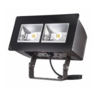 Lumark NFFLD-C40-T LED Floodlight, 16,932 Lumens, 120/277V, Trunnion Mount, Bronze