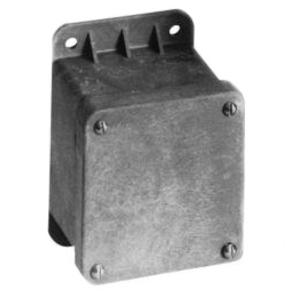 Carlon CP100NB Pilot Device, Enclosure, Blank, 1 Gang, Polycarbonate