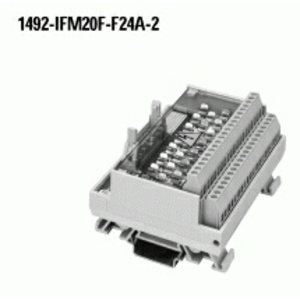 Allen-Bradley 1492-IFM20F-F24A-2 Interface Module, Digital, 20 Point, 24V AC/DC, Blown Fuse Ind.