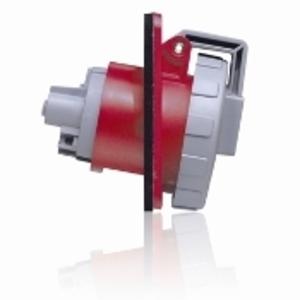 530R7W RED RECPT WTITE PIN/SLEV 4P5W 3PH