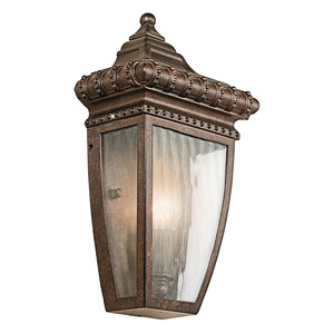 Kichler 49130BRZ OUTDOOR WALL LANTERN *** Discontinued ***