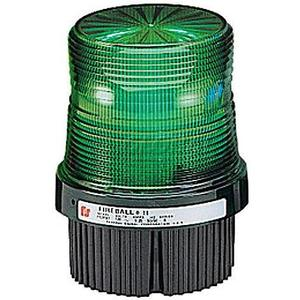 Federal Signal FB2PST-120G Strobe Beacon, Type: Strobe, Green, Voltage: 120VAC