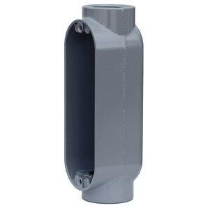 """Dottie C400 Conduit Body, Type C, 4"""", Die Cast Aluminum"""