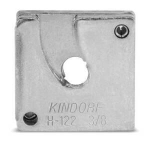 """Kindorf H-122-1/2-EG Trapnut Strut Fastener, Size: 1/2"""", Material: Steel"""